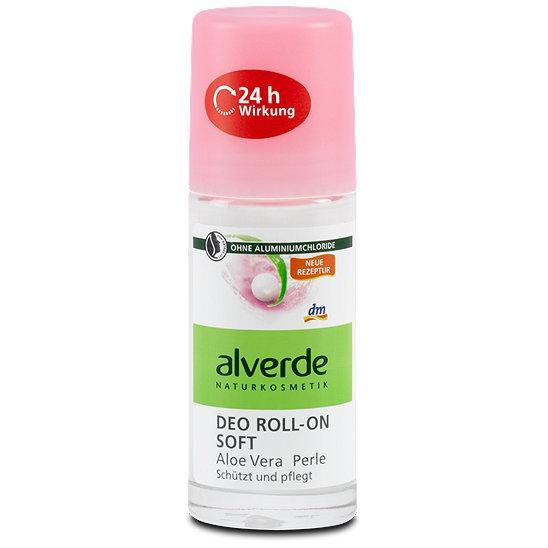 alverde naturkosmetik Alverde Naturkosmetik Soft с алоэ вера и жемчугом 24h 50 мл