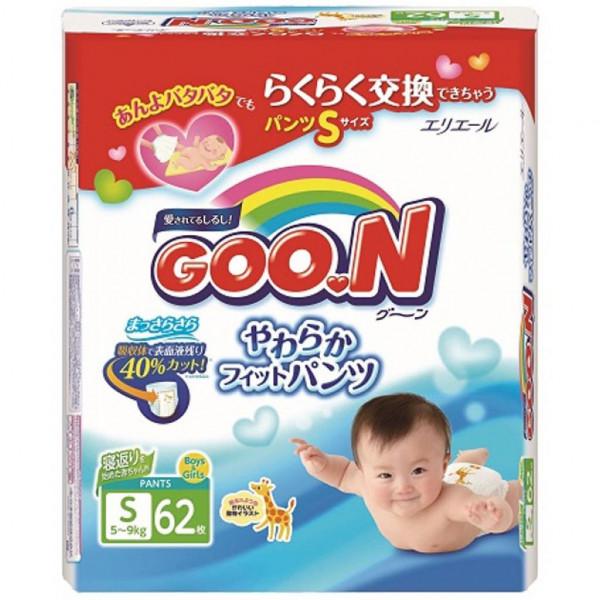 Goo.N 5-9 кг Унисекс 62 шт (753710) Goo.N
