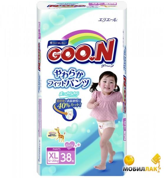 Goo.N для девочек 12-20 кг (размер Big (XL), 38 шт) (753715) Goo.N