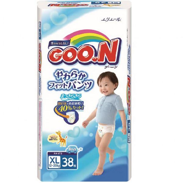 Goo.N для мальчиков 12-20 кг (размер Big (XL), 38 шт) (753714) Goo.N