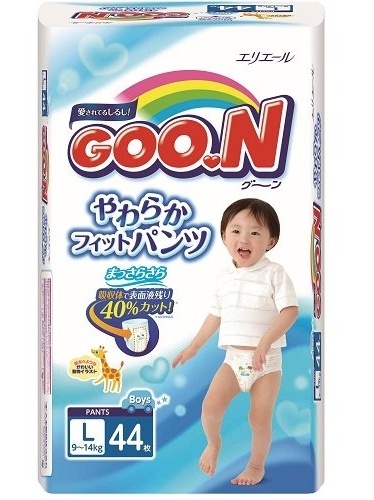 Goo.N для мальчиков 9-14 кг (размер L, 44 шт) (753712) Goo.N