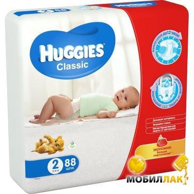 Подгузник Huggies Classic 2 Mega 88шт (5029053544816)