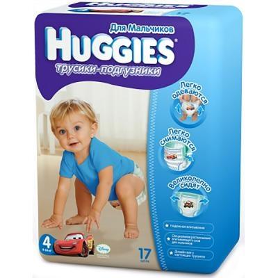 8598d29e3352 Подгузник Huggies Little Walkers 4 для мальчиков 9-14кг 17шт  (5029053543963) ...