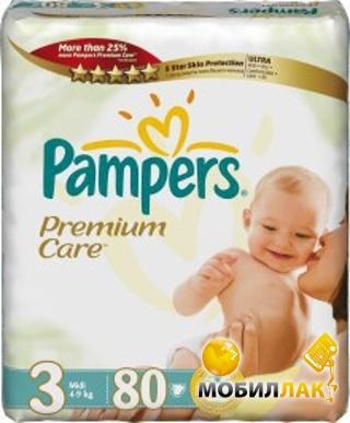 Подгузники-трусики Pampers Premium Care Midi 3 (4-9 кг) JUMBO PACK 80 шт..  Купить Подгузники-трусики Pampers Premium Care Midi 3 (4-9 кг) JUMBO PACK  80 шт. 2d767e5db51