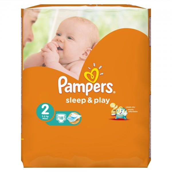 Видеообзор и фото Подгузники Pampers Sleep Play Mini 2 (3-6 кг) 18 ... a20ef91e7f5