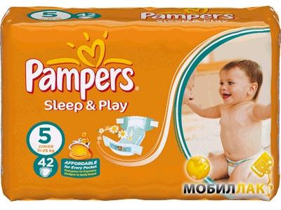 34a4ff4b294e Подгузники Pampers Sleep   Play Junior 5 (11-25 кг) 42 шт.. Купить  Подгузники Pampers Sleep   Play Junior 5 (11-25 кг) 42 шт.. Цена, доставка  по Украине ...