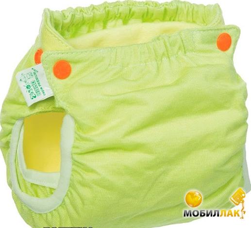 Эко-Пупс Classic Active, S, M (3-9 кг) зеленый Эко-Пупс