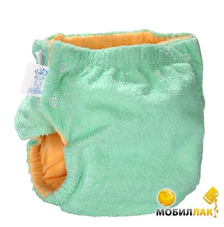 Эко-Пупс Многоразовые подгузники Classic S, M (3-9 кг) + 1 вкладыш с карманом Зеленый Эко-Пупс