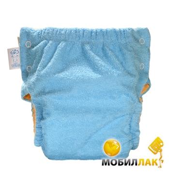 Эко-Пупс Многоразовые подгузники Classic XL (10-15 кг) + 1 вкладыш, c карманом Синий Эко-Пупс