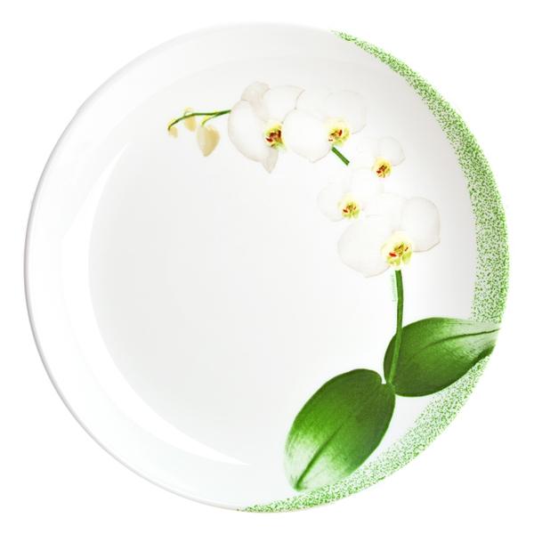 Luminarc White Orchid 19 см десертная Luminarc