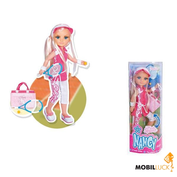 Кукла Nancy Кукла Нэнси Спорт Теннис 43 см по низкой цене в...