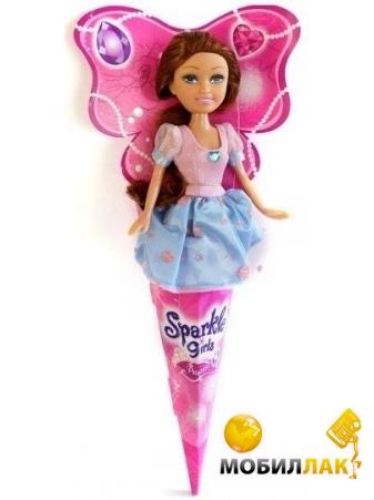 Funville Очаровательная принцесса брюнетка в розово-голубом платье (FV250051-3) Funville