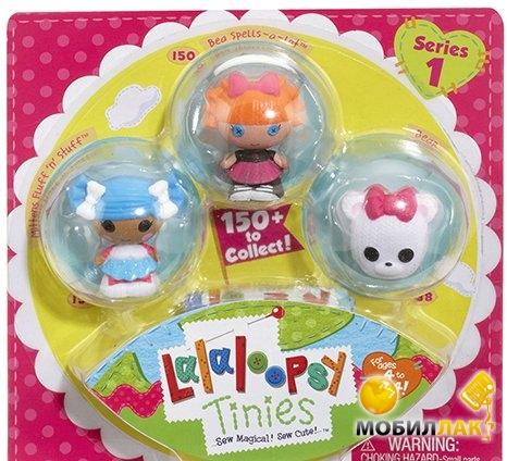 Lalaloopsy Снежинка И Умница Отличница (2 куклы, питомец) (531531) Lalaloopsy