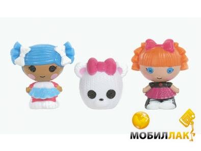 Набор кукол Lalaloopsy Снежинка и Умница Отличница (2 куклы, любимец) (531531)