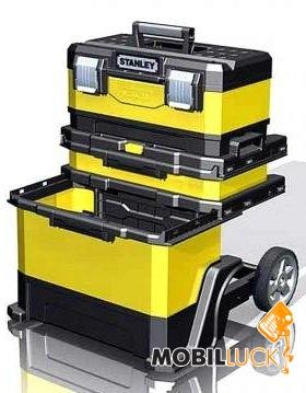 "Stanley Ящик с колёсами ""Stanley® Rolling Workshop"" 568 x 730 x 389мм (1-95-621) MobilLuck.com.ua 2677.000"