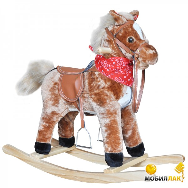 Super Star Лошадка-качалка Rocking horse Brown MobilLuck.com.ua 526.000