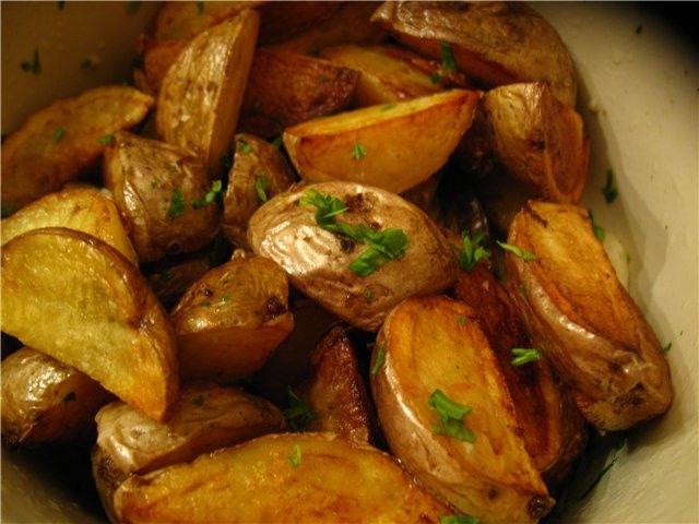 Картошка по селянски в мультиварке
