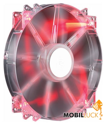 CoolerMaster MegaFlow 200, Red LED Silent Fan (R4-LUS-07AR-GP) MobilLuck.com.ua 234.000