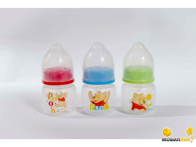Lindo Бутылочка для кормления Disney с силиконовой соской 60 мл, 1 шт. (LI 101) MobilLuck.com.ua 43.000