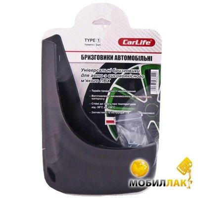 carlife CarLife Брызговики Type-№1 (TYPE1)