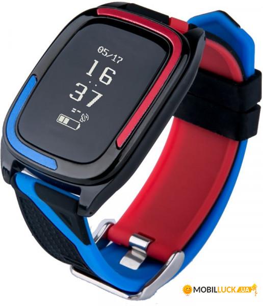 Фитнес-браслет Uwatch DB05 Red/Blue
