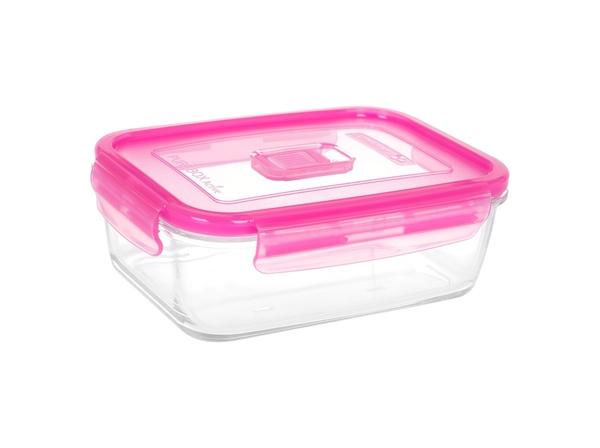Luminarc Pure Box Active Neon Розовая крышка 1220 мл (N0868) Luminarc