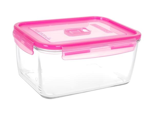 Luminarc Pure Box Active Neon Розовая крышка 2900 мл (N0876) Luminarc