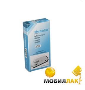 skrebba 24/06мм, упаковка 1000 шт (5020102) MobilLuck.com.ua 144.000