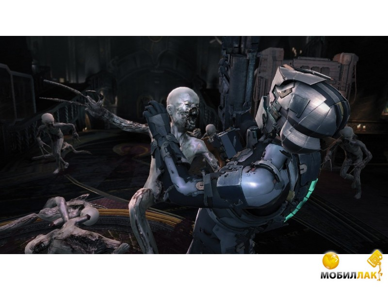 В Dead Space 3 Айзек Кларк и не знающий жалости солдат Джон Карвер отправят