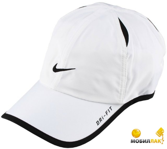 70c37583 Кепка Nike Feather Light kids white/black. Купить Кепка Nike Feather ...
