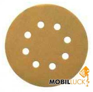 DeWALT Самоклеющаяся шкурка, d=125мм, зерно 80, 1шт HIGH-TECH (DT3113XM MobilLuck.com.ua 200.000