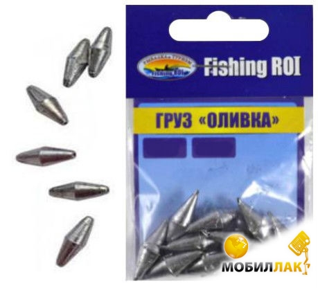 fishing roi Fishing Roi Оливка 12гр 5шт