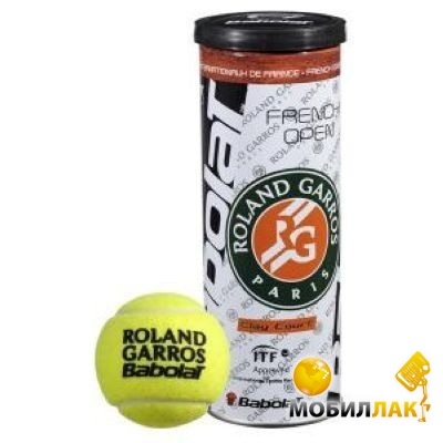 babolat Babolat Balls French Open Clay Court x 4
