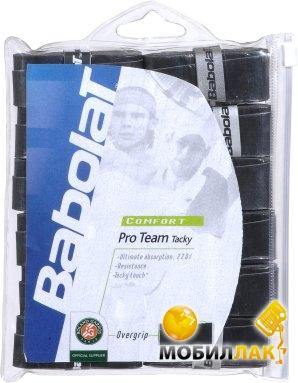 Видеообзор и фото Обмотка Babolat Pro Team Tacky x 12 Black. Купить Обмотка  Babolat Pro Team Tacky x 12 Black. Цена 4fbdec8a756a1