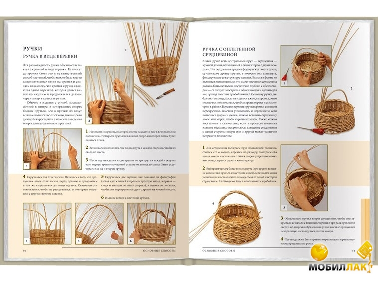 Плетение из ивы для начинающих пошагово: технология, мастер