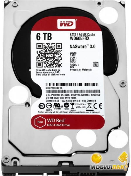 Western Digital WD60EFRX Western Digital