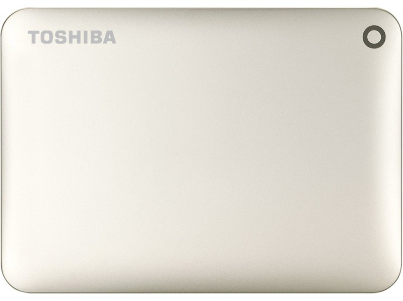 Внешний жесткий диск 500Gb Toshiba Canvio Connect II Satin gold (HDTC805EC3AA)