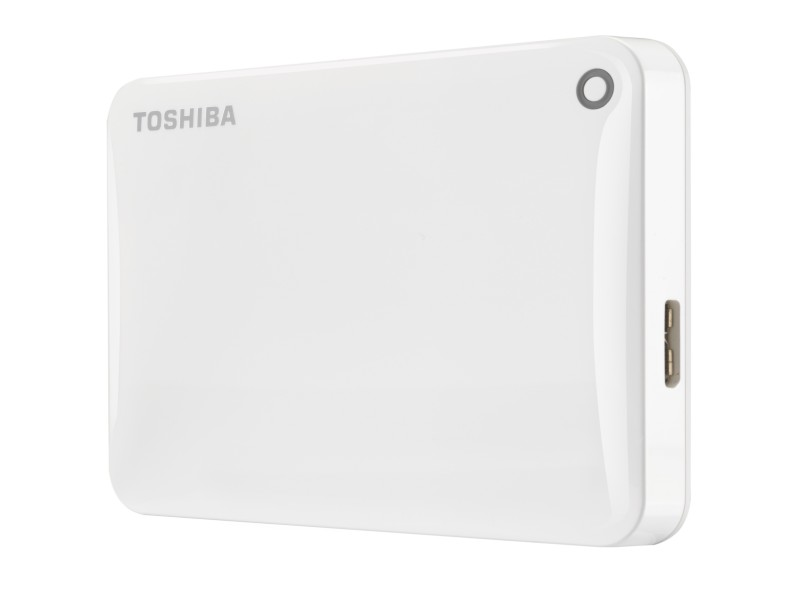 Внешний жесткий диск 500Gb Toshiba Canvio Connect II White (HDTC805EW3AA)