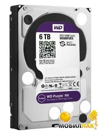 Western Digital 6TB WD6NPURX Western Digital