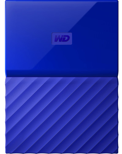Жесткий диск Western Digital My Passport 2.5 USB 3.0 3TB Blue (WDBYFT0030BBL-WESN)