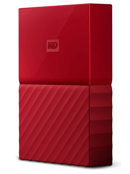 Western Digital My Passport 2.5 USB 3.0 3TB Red (WDBYFT0030BRD-WESN) Western Digital
