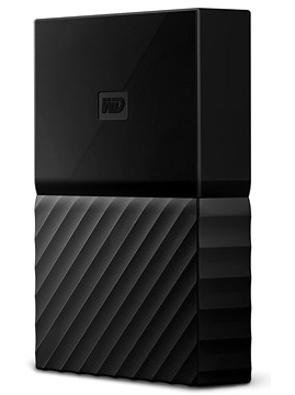 Western Digital My Passport 2.5 USB 3.0 4TB Black (WDBYFT0040BBK-WESN) Western Digital