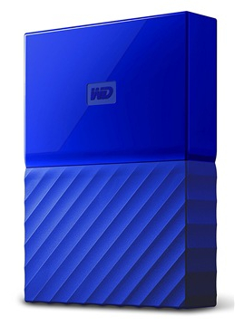 Western Digital My Passport 2.5 USB 3.0 4TB Blue (WDBYFT0040BBL-WESN) Western Digital