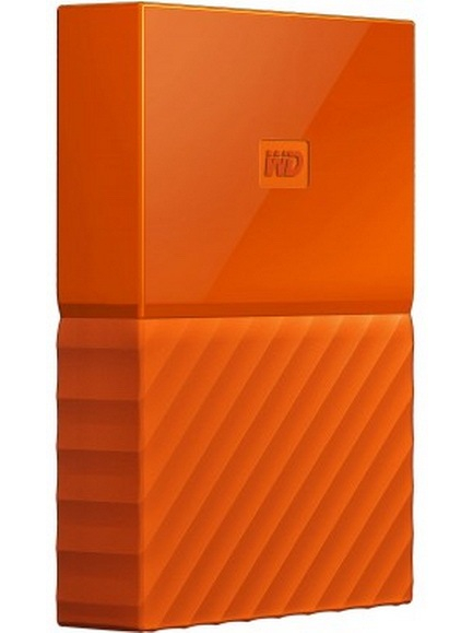 Western Digital My Passport 2.5 USB 3.0 4TB Orange (WDBYFT0040BOR-WESN) Western Digital