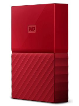 Western Digital My Passport 2.5 USB 3.0 4TB Red (WDBYFT0040BRD-WESN) Western Digital
