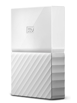 Western Digital My Passport 2.5 USB 3.0 4TB White (WDBYFT0040BWT-WESN) Western Digital
