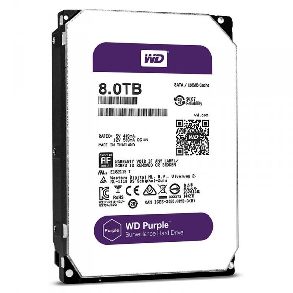 Western Digital Purple 8TB 128MB WD80PUZX 3.5 SATA III Western Digital