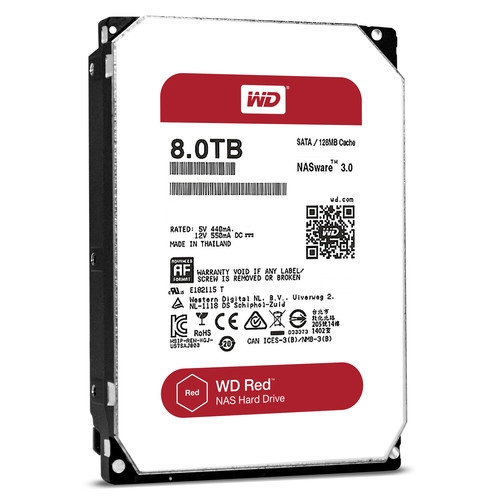 Western Digital Red 8TB 5400rpm 128MB WD80EFZX 3.5 SATA III Western Digital