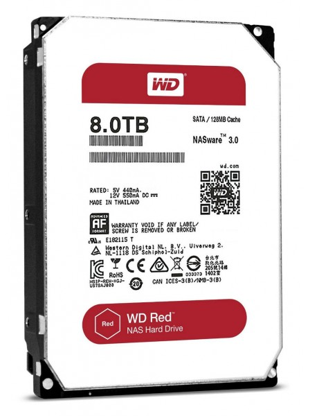 Western Digital Red Pro 8TB 7200rpm 128MB WD8001FFWX 3.5 SATA III Western Digital