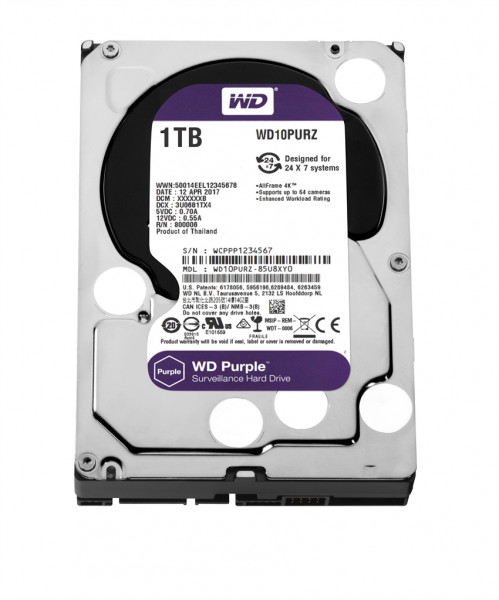 Western Digital WD10PURZ Western Digital